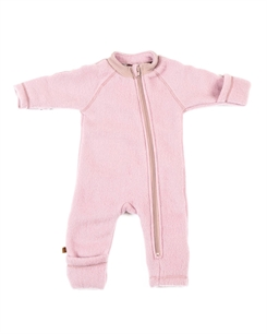 Smallstuff merino uld jumpsuit - powder