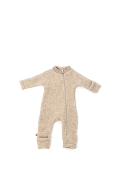 Smallstuff merino uld jumpsuit - nature