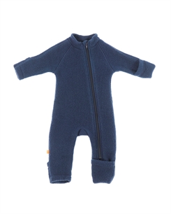 Smallstuff merino uld jumpsuit - navy