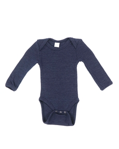 Smallstuff merino uld body - Navy