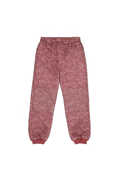 Soft Gallery Morgan Thermo pants -  Apple Butter, AOP Flowerdus