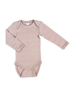 Smallstuff LS body - Blue rose/soft rose striped