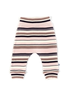 Smallstuff pants - Soft rose multistriped