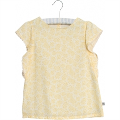 Wheat blouse Alfi - Lemon flowers