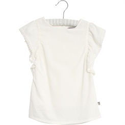 Wheat blouse Alfi - Ivory