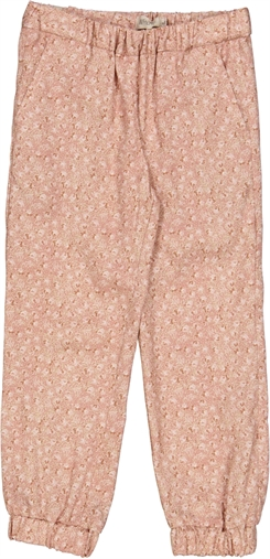 Wheat trousers Tinka - Rose flowers