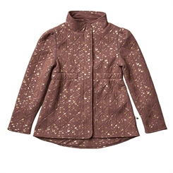 By Lindgren Little Sigrid Thermo jacket - Rose blush w/gold