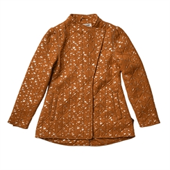 By Lindgren - Aud thermo jacket m fleece - Caramel w/gold