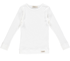 MarMar plain Tee LS (Gentle white)
