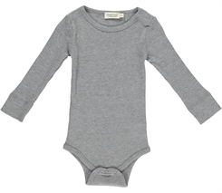 MarMar Plain Body LS (Grey melange)