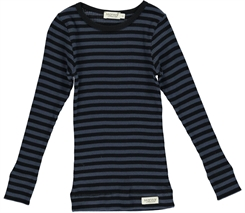 MarMar Modal stripes Tee LS (Black/Blue)