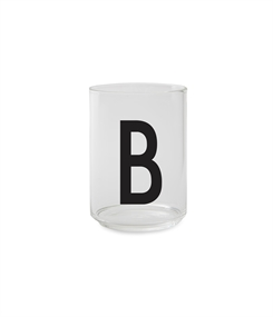 Design Letters Personal drinking glass (B)