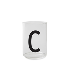 Design Letters Personal drinking glass (C)