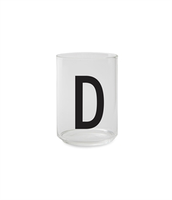 Design Letters Personal drinking glass (D)
