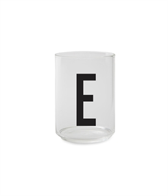 Design Letters Personal drinking glass (E)