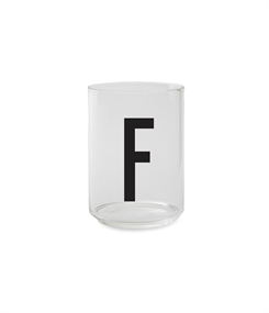 Design Letters Personal drinking glass (F)
