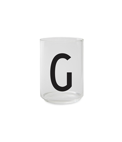 Design Letters Personal drinking glass (G)