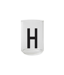Design Letters Personal drinking glass (H)