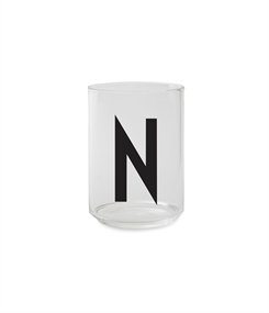 Design Letters Personal drinking glass (N)