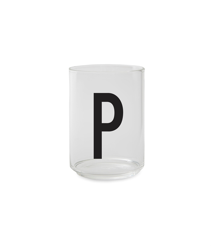 Design Letters Personal drinking glass (P)