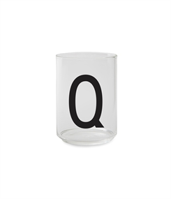 Design Letters Personal drinking glass (Q)