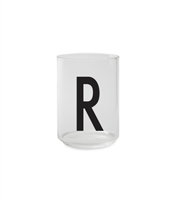 Design Letters Personal drinking glass (R)