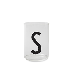 Design Letters Personal drinking glass (S)