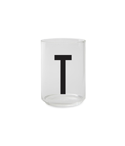 Design Letters Personal drinking glass (T)