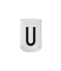 Design Letters Personal drinking glass (U)