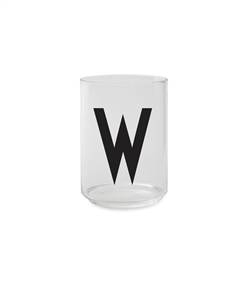 Design Letters Personal drinking glass (W)