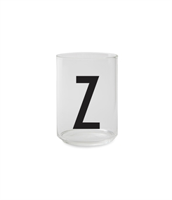 Design Letters Personal drinking glass (Z)