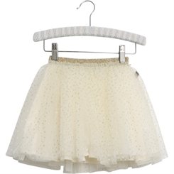 Wheat Tulle Skirt Karli - Eggshell