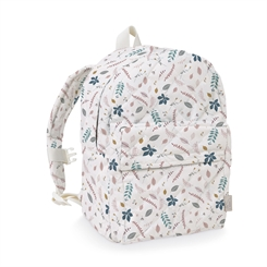 CamCam bagpack - pressed leaves rose