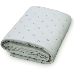 CamCam Baby Quilt Dot (Dark Green Dot)