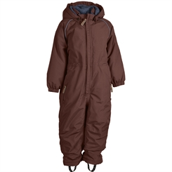 Mikk-Line Junior snowsuit Solid - Marron