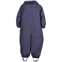 Mikk-Line baby snowsuit Solid - Blue Nights