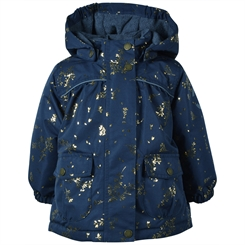 Mikk-Line baby winther Jacket - Blue Nights (RECYCLED!)