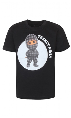 "Ternet Ninja - Anders Matthesen - Kids-Up T-shirt ""Ternet Ninja?"" (sort)"
