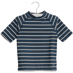 Wheat swim T-shirt Jackie SS - Indigo