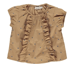 MarMar Twilla top (Caramel dot)