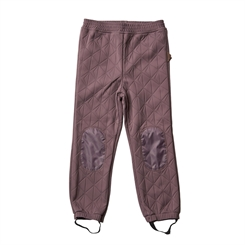 By Lindgren - Sigrid thermo pants - Purple moon
