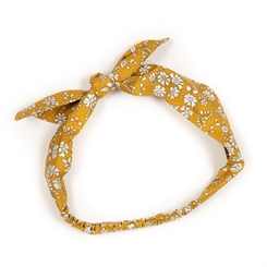 Huttelihut hairband accessories - Capel Mustard