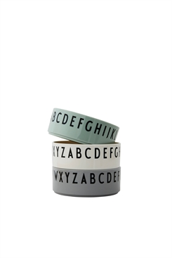 Design Letters bowl set (green)