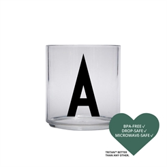 Design Letters Personal tritan drinking glass (A)
