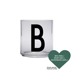 Design Letters Personal tritan drinking glass (B)