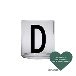 Design Letters Personal tritan drinking glass (D)