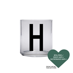 Design Letters Personal tritan drinking glass (H)