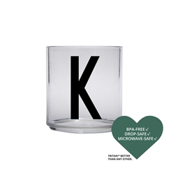 Design Letters Personal tritan drinking glass (K)