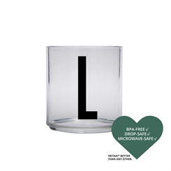 Design Letters Personal tritan drinking glass (L)