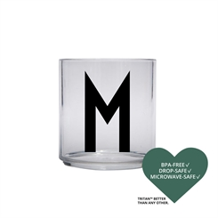 Design Letters Personal tritan drinking glass (M)